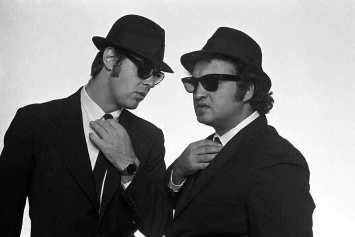 The Blues Brothers Jake & Elwood Figure Set | Edmonds Comic Con Shop