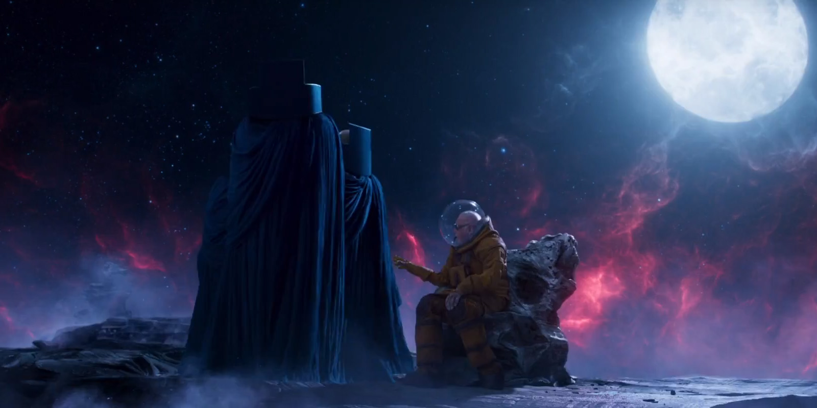 6. Guardians Of The Galaxy Vol. 2. The movie has five credit scenes! The funniest, however, is the one including Stan Lee. Stan is seen telling stories to the Watchers, only for them to turn away as he keeps on with his incredible exploits.
