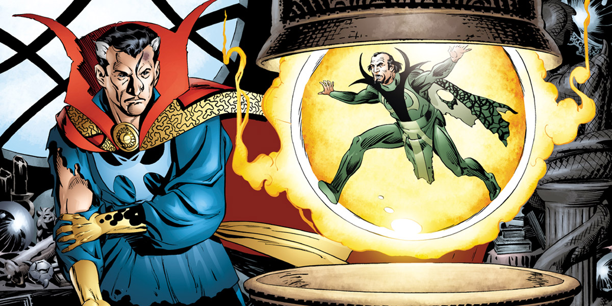 4. Mordo. Baron Mordo is the nemesis of Strange. He was made to prevent Doctor from being the hero. He tricked the Ancient One into making him The Sorcerer Supreme. When Doctor came to him for help, he made the doctor fall into even deeper trouble.
