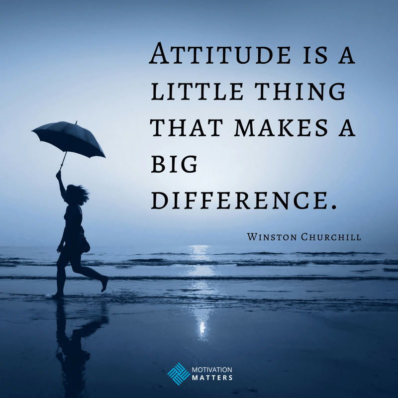 thoughts about positive attitude