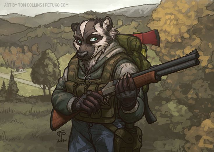 Hora de cazar furros