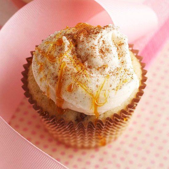 Cream Brule Cupcake