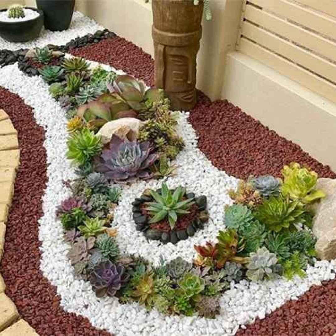 Beautiful No Grass Garden Designs