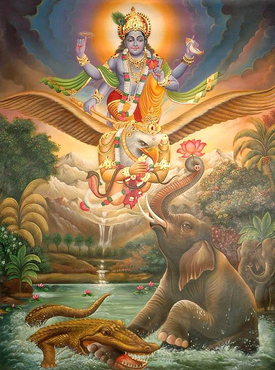 Gajendra Moksham from Srimad Bhagavatam - The Cultural Heritage of India