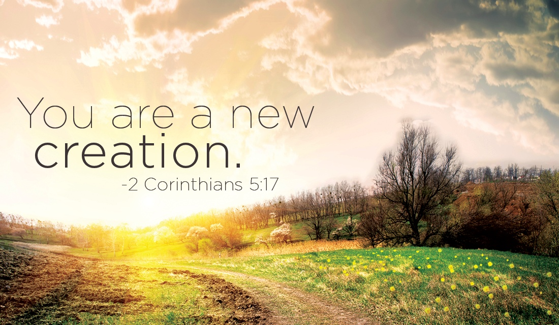 """Are we a part of God's """"new creation""""?"""