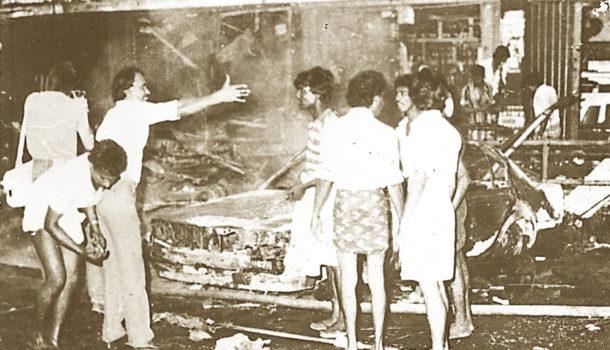 Sri Lanka Black July 1983 anti-Tamil pogrom riots