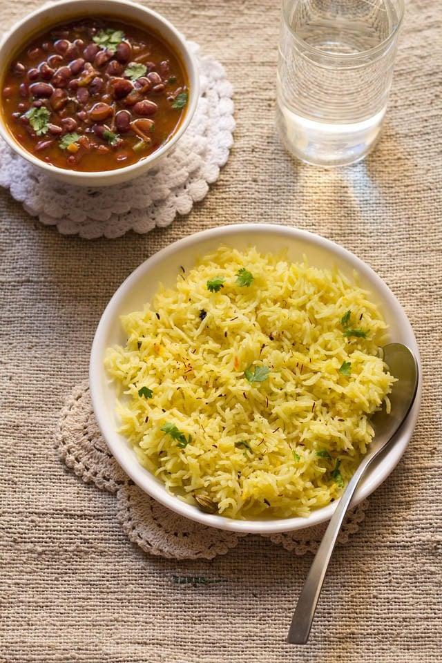 Saffron Cover Rice