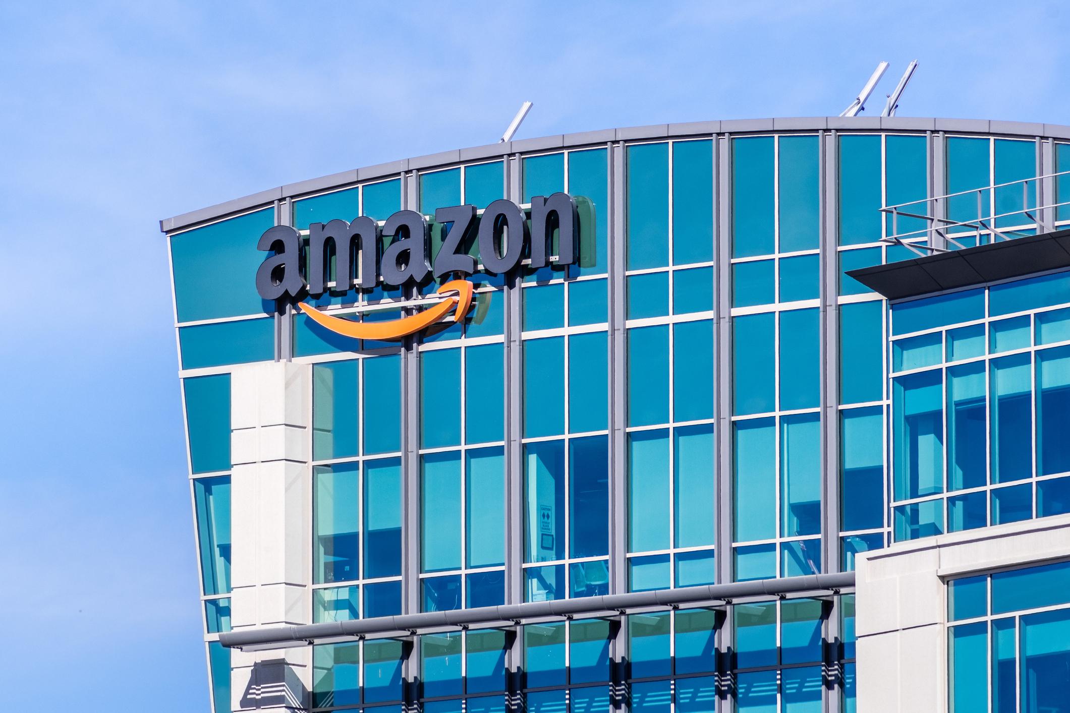 Ảnh tham khảo cổ phiếu Amazon
