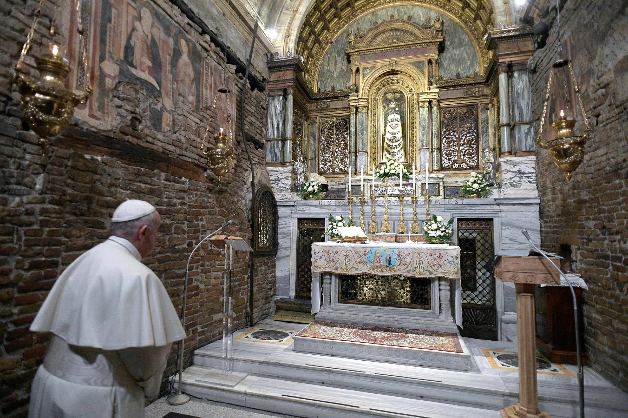 09 May – Rosary for the end to the pandemic from the Shrine of OUR LADY OF LORETO, Italy