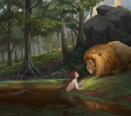 Il leone e la sirena