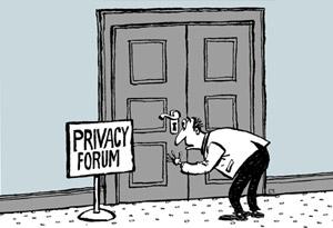 Humor Today Politics privacy cartoon