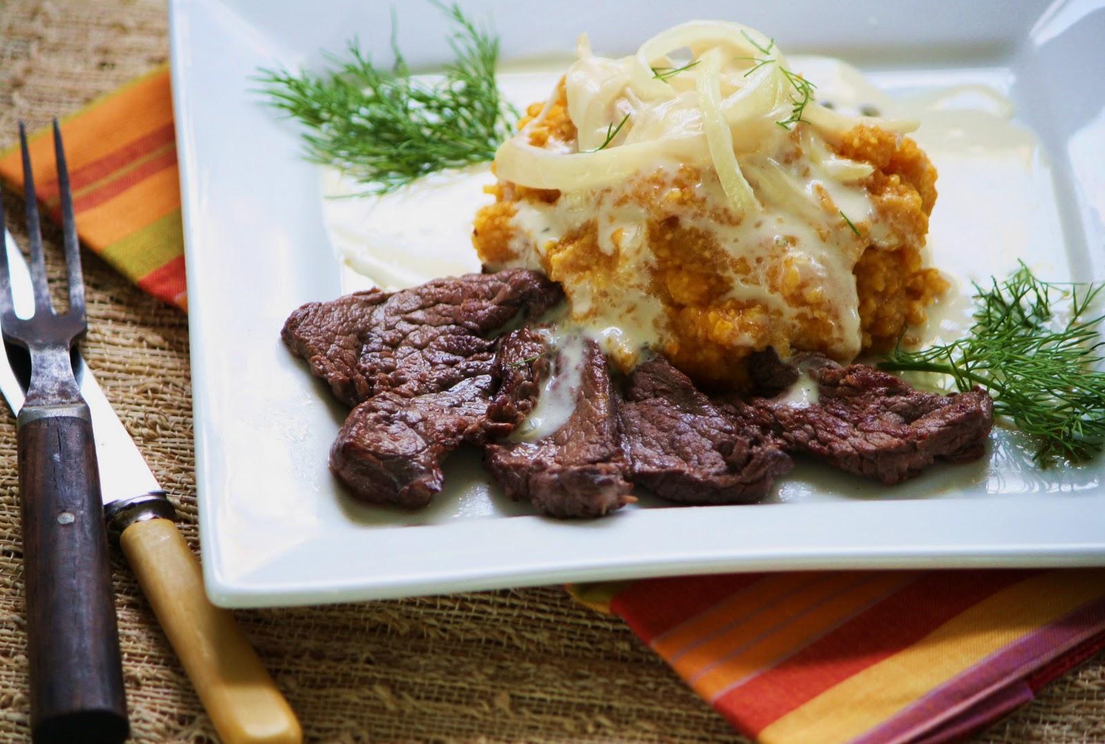 Karoo Roast ostrich steak: National Dish of Eswatini