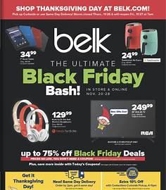 Belk Black Friday 2020 flyer image
