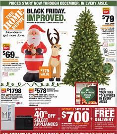 Home Depot Black Friday 2020 flyer image