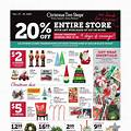 Christmas Tree Shops flyer image