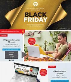 HP Black Friday 2020 flyer image