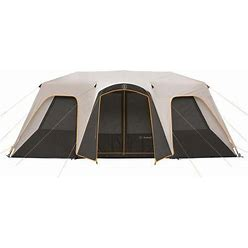 Bushnell 12 Person Outdoorsman Instant Cabin Tent In Grey | Camping World