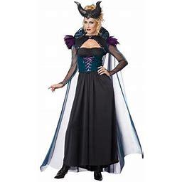 Storybook Sorceress Sexy Villain Vixen Fairytale Women Halloween Costume, Women's, Size: Large
