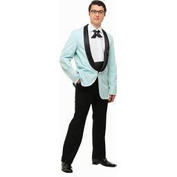 Men's Mr. 50s Costume | Adult | Mens | Black/Green | M | FUN Costumes
