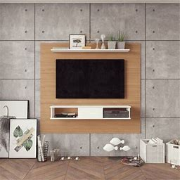"""Langley Street® Norloti Floating Entertainment Center For Tvs Up To 70"""""""