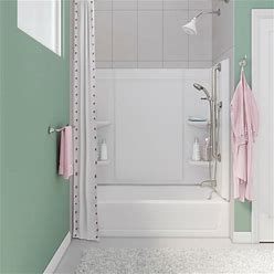 Sterling Medley White Modular Shower Wall Surround (60-In X 32-In) | 71324800-0