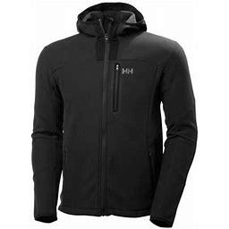 Helly Hansen Mens Vanir Fleece Jacket Midlayer, Men's, Size: 36, Black