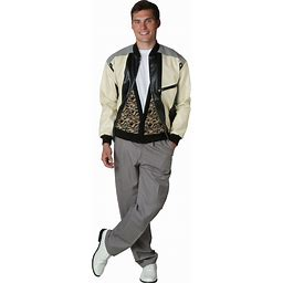 Ferris Bueller Costume   Movie Character Costumes   Adult   Mens   Beige/Gray   L   FUN Costumes