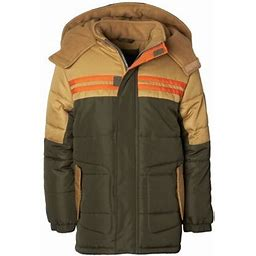 Ixtreme Colorblock Expedition Puffer Jacket (Little Boys & Big Boys), Boy's, Size: 4