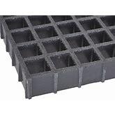 Fibergrate Dark Gray Molded Grating, Corvex Resin Type, 5 Ft. Span, Grit-Top Surface Model: 878862