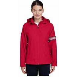 Team 365 Women's Boost All Season Jacket With Fleece Lining, Style Tt78w, Size: Large, Red