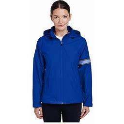 Team 365 Women's Boost All Season Jacket With Fleece Lining, Style Tt78w, Size: Medium, Blue