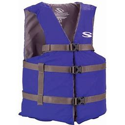 Stearns Adult Classic Series Life Jacket, Blue, Adult Universal