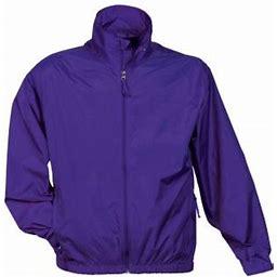 Tri-mountain Unlined Nylon Jacket., Men's, Size: LT, Purple