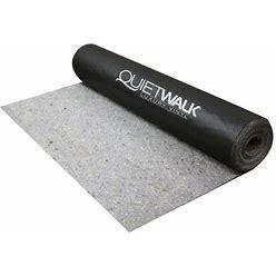 MP Global Products Quietwalk Luxury Vinyl Underlayment Fiber In Brown, Size 400.0 H X 36.0 W X 0.0625 D In   Wayfair QWLV100