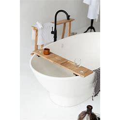 Handmade Bathtub Caddy, Bath Organizer, Natural Wood Bathtub Tray, Bathroom Caddy, Tablet Holder, Wine Glass Holder & Soap Dish