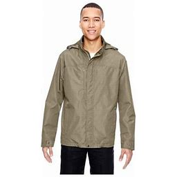 North End Men's Lightweight Jacket With Pattern, Style 88216, Size: Large, Gray