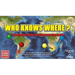 Who Knows Where - The Global Location Guessing Board Game
