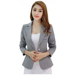 Topumt Women One Button Slim Casual Business Blazer Suit Jacket Coat Outwear, Women's, Size: 2XL, Red