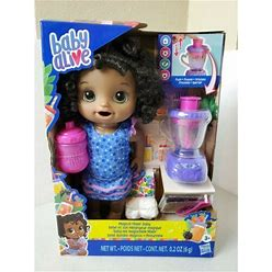 Baby Alive Magical Mixer Baby Doll W/ Blender + Accessories Hasbro