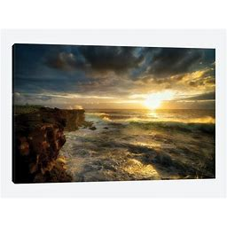 Dennis Frates Paintings On Canvas Art - Hawaiian Sunrise Print