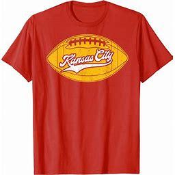 Kansas City Football Vintage KC Missouri Retro Gift T Shirt