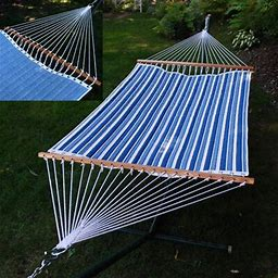 Algoma Net Company Reversible Quilted Polyester Tree Hammock
