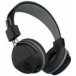 Jlab Audio Neon Bluetooth Wireless On_Ear Headphones, Black