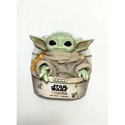 Star Wars Baby Yoda The Child 11 Inch Plush Toy Gwd85 The Mandalorian