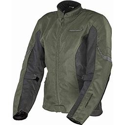 Firstgear Women's Contour Jacket (Small) (Olive), Adult Unisex, Green