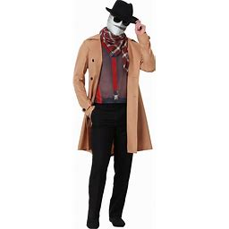 Invisible Man Costume For Adults | Adult | Mens | Beige/Brown/Red | M | FUN Costumes