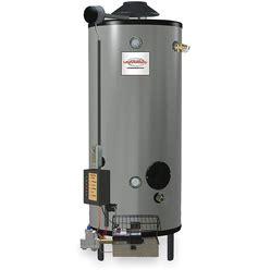 Rheem-Ruud Commercial Gas Water Heater, 100.0 Gal Tank Capacity, Natural Gas, 199,900 Btuh - Water Heaters Model: GN100-200