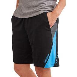 Russell Men's Knit Sweat Gray Short