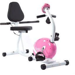 Magnetic Recumbent Bike Exercise Bike, 220Lb Capacity, Monitor, Pulse Rate Monitoring