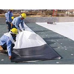 TPO P S Roofing Membrane 60 Mil White 10X25 Ft., From Weatherbond